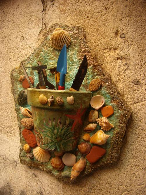 vaso porta oggetti da giardino